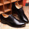 Male Breathable Soft Slinky Casual Oxford Shoes - BLACK
