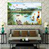 HuaTuo Modern Lake View Hand Painted Oil Painting - COLORMIX