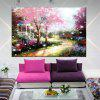 HuaTuo Modern Colorful  Landscape Hand Painted Oil Painting - COLORMIX