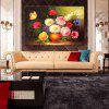 HuaTuo Modern Colorful Flowers Hand Painted Oil Painting - COLORMIX