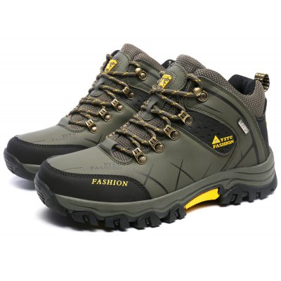 Men Anti-slip High Top Hiking / Climbing Shoes