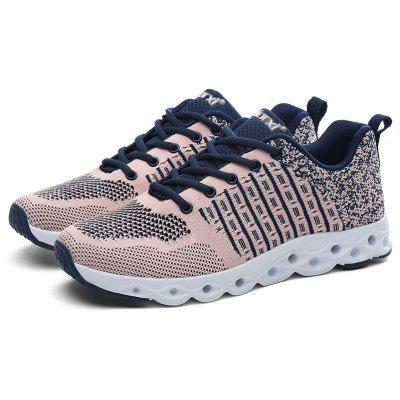 Buy PINK Breathable Athletic Shoes with MD Soles for Men for $32.85 in GearBest store