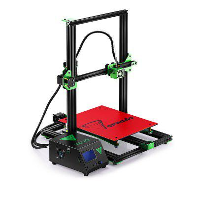 TEVO Tornado Most Assembled Full Aluminum Frame 3D Printer3D Printers, 3D Printer Kits<br>TEVO Tornado Most Assembled Full Aluminum Frame 3D Printer<br><br>Brand: Tevo<br>File format: G-code, STL<br>Frame material: Aluminum<br>Host computer software: Cura,Repetier-Host,Simplify3D<br>LCD Screen: Yes<br>Material diameter: 1.75mm<br>Memory card offline print: SD card<br>Model: Tornado<br>Nozzle diameter: 0.4mm<br>Package size: 64.00 x 53.00 x 31.00 cm / 25.2 x 20.87 x 12.2 inches<br>Package weight: 13.3000 kg<br>Packing Contents: 1 x Tevo Tornado 3D Printer Kit, 1 x Assembly Tool Set, 1 x English Assembly Instruction<br>Packing Type: unassembled packing<br>Print speed: 150mm/s<br>Product forming size: 300 x 300 x 400mm<br>Product size: 50.00 x 60.00 x 62.00 cm / 19.69 x 23.62 x 24.41 inches<br>Product weight: 13.0000 kg<br>Supporting material: PLA, Wood, ABS, Carbon Fiber, PVA, PETG, Flexible Filaments<br>System support: Mac,  Linux, Windows<br>Type: DIY<br>Voltage: 110V/220V