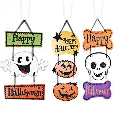 Halloween Decorative Kit Banner Skull Design HangingHalloween Supplies<br>Halloween Decorative Kit Banner Skull Design Hanging<br><br>Material: Paper<br>Package Contents: 1 x Halloween Hanging<br>Package size (L x W x H): 40.00 x 30.00 x 10.00 cm / 15.75 x 11.81 x 3.94 inches<br>Package weight: 0.1000 kg<br>Product size (L x W x H): 30.00 x 22.00 x 3.00 cm / 11.81 x 8.66 x 1.18 inches<br>Product weight: 0.0850 kg<br>Usage: Halloween, Party