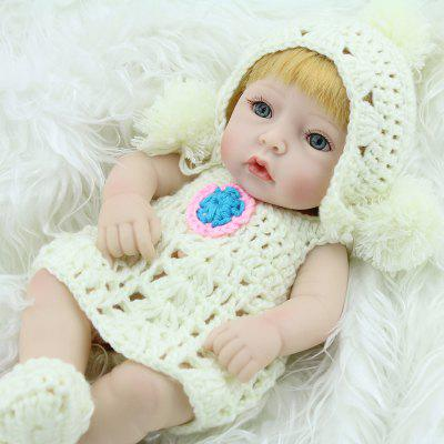 Adorable Realistic Lifelike Soft Silicone Girl Pretended Play Toy