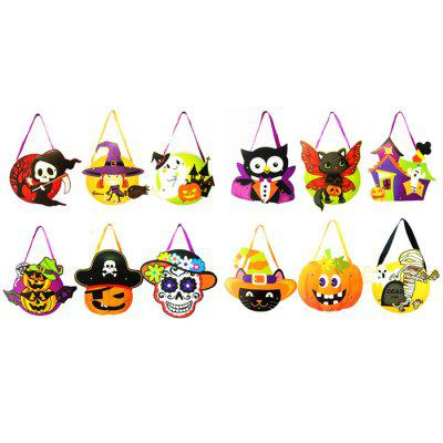 DIY Cute Halloween Children Trick or Treat Candy BagHalloween Supplies<br>DIY Cute Halloween Children Trick or Treat Candy Bag<br><br>Material: Paper<br>Package Contents: 1 x Halloween Candy Bag<br>Package size (L x W x H): 30.00 x 10.00 x 20.00 cm / 11.81 x 3.94 x 7.87 inches<br>Package weight: 0.0350 kg<br>Product size (L x W x H): 18.00 x 5.00 x 25.50 cm / 7.09 x 1.97 x 10.04 inches<br>Product weight: 0.0240 kg<br>Usage: Halloween, Party, Stage