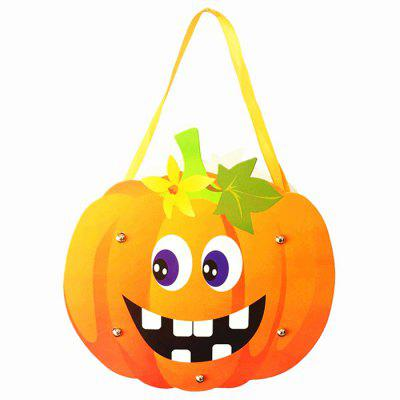 DIY Cute Halloween Children Trick or Treat Candy Bag