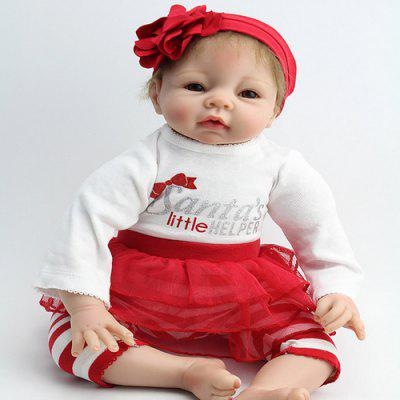 Soft Silicone Real Looking Reborn Baby Girl Doll Toy