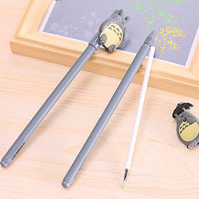 4Pcs Lovely Cartoon Cat Figure Theme Ballpoint Pen