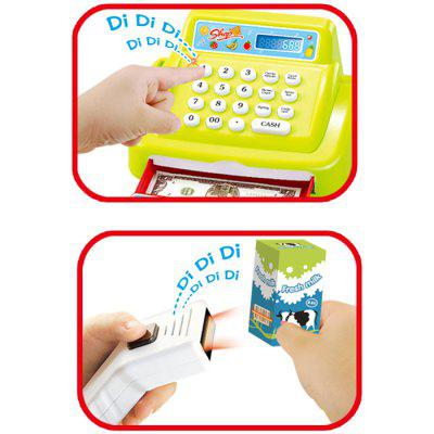 Mini Market Cash Register Supermarket Checkout Model ToyPretend Play<br>Mini Market Cash Register Supermarket Checkout Model Toy<br><br>Age: 0-36 Month<br>Applicable gender: Unisex<br>Design Style: Other<br>Features: Educational, DIY<br>Gender: Unisex<br>Material: Plastic<br>Package Contents: 1 x Cashier Suit<br>Package size (L x W x H): 36.00 x 17.00 x 18.50 cm / 14.17 x 6.69 x 7.28 inches<br>Package weight: 0.6800 kg<br>Product size (L x W x H): 35.00 x 16.00 x 17.50 cm / 13.78 x 6.3 x 6.89 inches<br>Product weight: 0.5800 kg<br>Small Parts: Yes<br>Type: Pretend Play<br>Washing: No