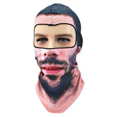 Outdoor Dust Proof Ciclismo Animal Pattern Protective Mask