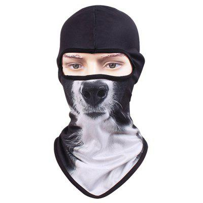 Buy COLORMIX STYLE3 CS Cycling Face Animal Pattern Full Cover Protective Mask for $3.39 in GearBest store