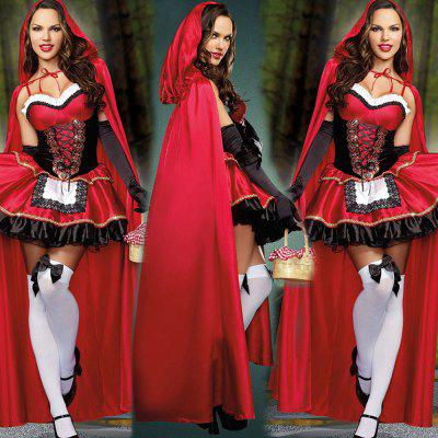 Halloween Popular Female Decorative Costume DressHalloween Supplies<br>Halloween Popular Female Decorative Costume Dress<br><br>For: Lover, Sisters<br>Package Contents: 1 x Dress, 1 x Cloak, 1 x Pair of Gloves<br>Package size (L x W x H): 35.00 x 32.00 x 3.00 cm / 13.78 x 12.6 x 1.18 inches<br>Package weight: 0.4040 kg<br>Product size (L x W x H): 95.00 x 150.00 x 2.00 cm / 37.4 x 59.06 x 0.79 inches<br>Product weight: 0.4000 kg<br>Usage: Performance, Stage, Halloween