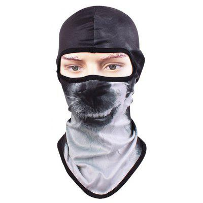 Casque CS Body Face Animal Pattern Masque de Protection de Couverture Complète