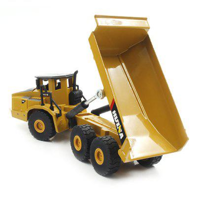 HUI NA TOYS 1712 1:50 Alloy Articulated Dump TruckModel &amp; Building Toys<br>HUI NA TOYS 1712 1:50 Alloy Articulated Dump Truck<br><br>Brand: HUI NA TOYS<br>Gender: Boys<br>Materials: Alloy<br>Package Contents: 1 x Articulated Dump Truck Model<br>Package size: 15.50 x 10.00 x 13.00 cm / 6.1 x 3.94 x 5.12 inches<br>Package weight: 0.8800 kg<br>Product size: 20.00 x 6.00 x 6.50 cm / 7.87 x 2.36 x 2.56 inches<br>Product weight: 0.5000 kg<br>Stem From: China<br>Theme: Vehicle