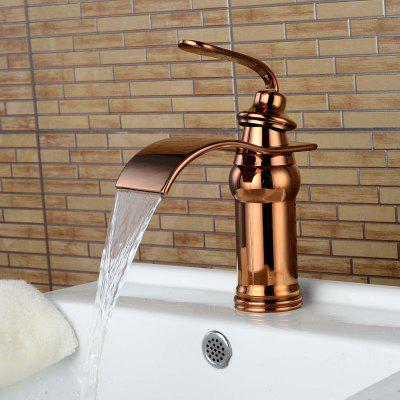 LING HAO HL - 896 Rose Gold Farbe Wasserhahn