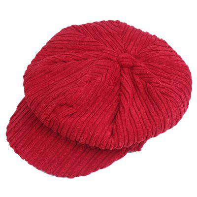 Fashion Keep Warm Octangle Baseball Hat for Women
