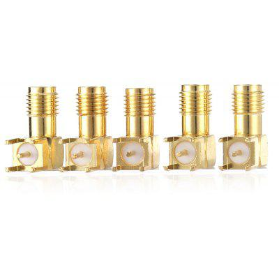 5PCS SMA - KWE Right Angle SMA Receptacle Connector