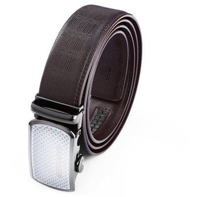 Durable Automatic Alloy Buckle Trouser Belt for Men