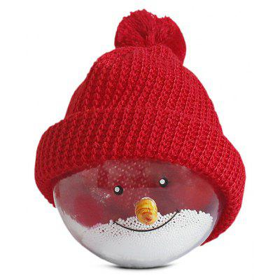 Creative Snowman Transparent Christmas Ball for Decoration