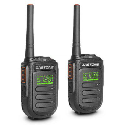 zastone Mini9 Wireless Handheld Walkie Talkies 2PCS
