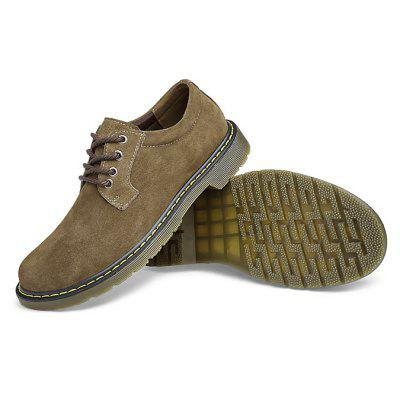 Male Wearable Soft Lower-cut Casual Martin Oxford ShoesMen's Oxford<br>Male Wearable Soft Lower-cut Casual Martin Oxford Shoes<br><br>Closure Type: Lace-Up<br>Contents: 1 x Pair of Shoes, 1 x Box<br>Function: Slip Resistant<br>Materials: TPR, Suede<br>Occasion: Tea Party, Shopping, Party, Office, Holiday, Daily, Casual, Outdoor Clothing<br>Outsole Material: TPR<br>Package Size ( L x W x H ): 31.00 x 20.00 x 16.00 cm / 12.2 x 7.87 x 6.3 inches<br>Pattern Type: Solid<br>Seasons: Autumn,Spring<br>Style: Leisure, Modern, Fashion, Comfortable, Casual<br>Toe Shape: Round Toe<br>Type: Casual Leather Shoes<br>Upper Material: Suede