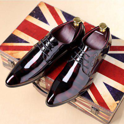 Male Business Glossy Printed Durable Casual Leather ShoesCasual Shoes<br>Male Business Glossy Printed Durable Casual Leather Shoes<br><br>Closure Type: Lace-Up<br>Contents: 1 x Pair of Shoes, 1 x Box, 1 x Shoe Bag, 2 x Shoelace<br>Function: Slip Resistant<br>Materials: Patent Leather, Rubber<br>Occasion: Tea Party, Shopping, Party, Office, Holiday, Daily, Casual<br>Outsole Material: Rubber<br>Package Size ( L x W x H ): 40.00 x 20.00 x 10.00 cm / 15.75 x 7.87 x 3.94 inches<br>Seasons: Autumn,Spring<br>Style: Modern, Leisure, Fashion, Comfortable, Casual, Business<br>Toe Shape: Pointed Toe<br>Type: Casual Leather Shoes<br>Upper Material: Patent Leather