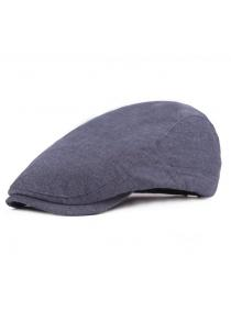 Fashion British Style Cotton Beret Hat for Men