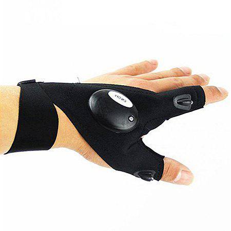 Portable LED Night Gloves with Light