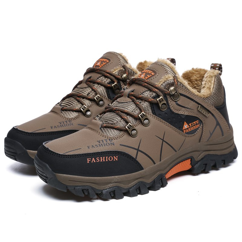 outlet many kinds of Male Wool Keep Warm Low-top Shoes for Hiking / Climbing clearance store cheap price 0o0B5SmI8s