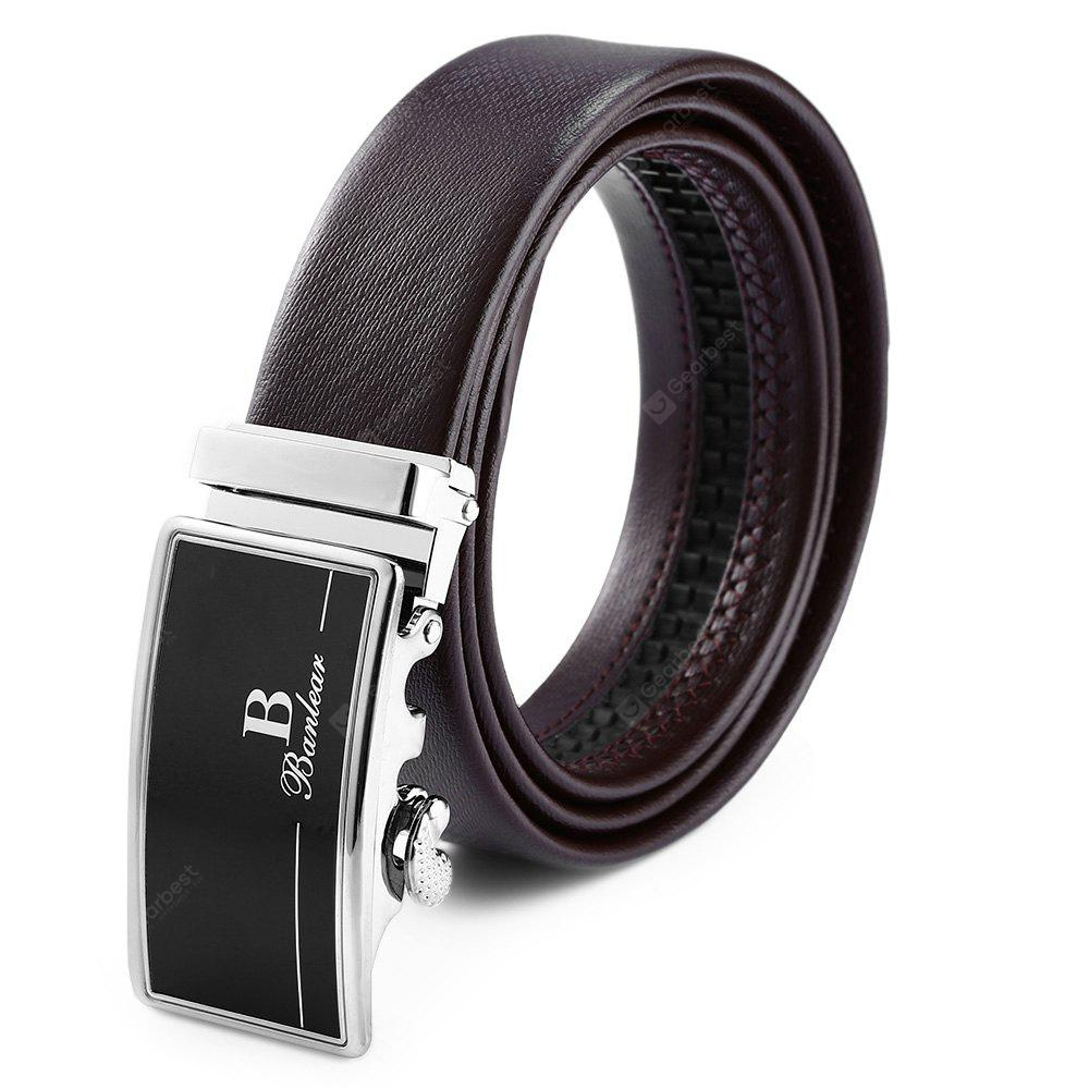 Wearable Automatic Alloy Buckle Trouser Belt for Men