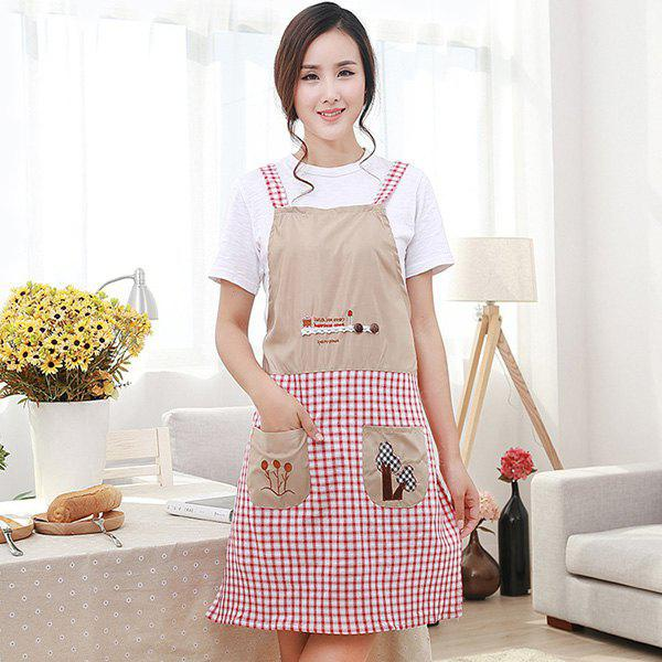 Embroidery Durable Antifouling Apron