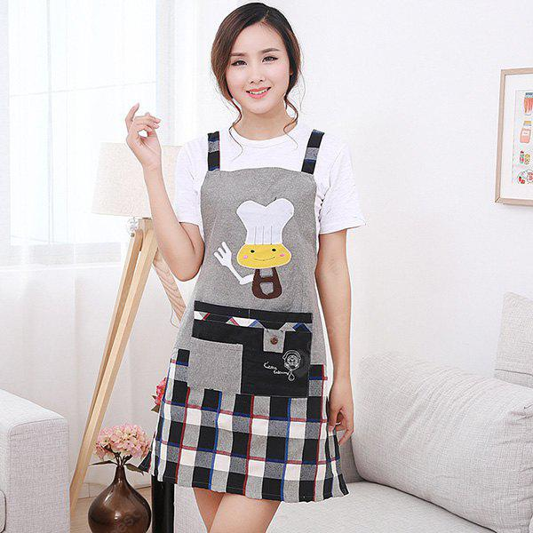 Durable Comfortable Apron with Strip