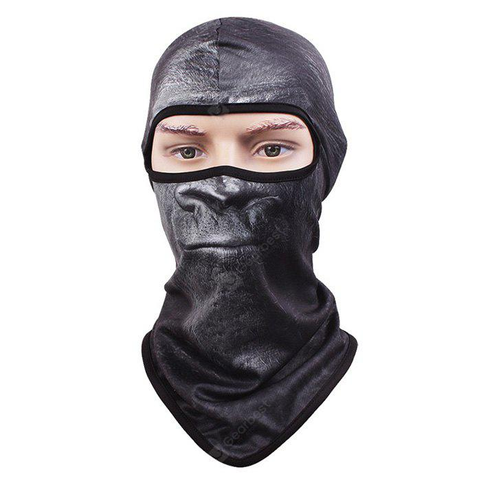 CS Cycling Face Animal Pattern Full Cover Protective Mask