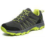 Outdoor Lace-up Hiking / Climbing  Shoes for Men - DEEP GRAY