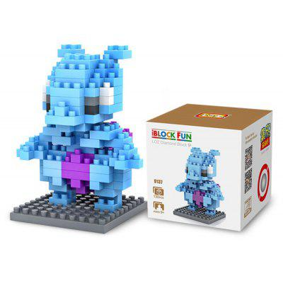 LOZ 130Pcs M - 9137 Mewtwo Pokemon Building Block Educational Toy for Cooperation Ability