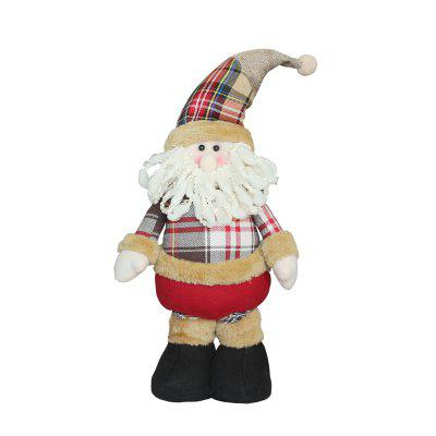 Adjustable Santa Claus Style Decoration in ChristmasChristmas Supplies<br>Adjustable Santa Claus Style Decoration in Christmas<br><br>Package Contents: 1 x Decoration<br>Package size (L x W x H): 13.00 x 13.00 x 38.00 cm / 5.12 x 5.12 x 14.96 inches<br>Package weight: 0.3000 kg<br>Product size (L x W x H): 12.50 x 12.50 x 51.00 cm / 4.92 x 4.92 x 20.08 inches<br>Product weight: 0.2000 kg<br>Usage: Christmas