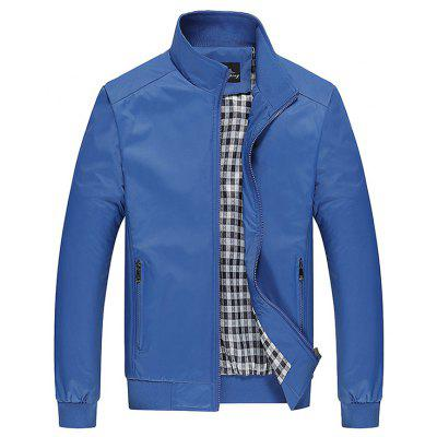 Buy AZURE Fashion Plus Size Jacket for $32.26 in GearBest store