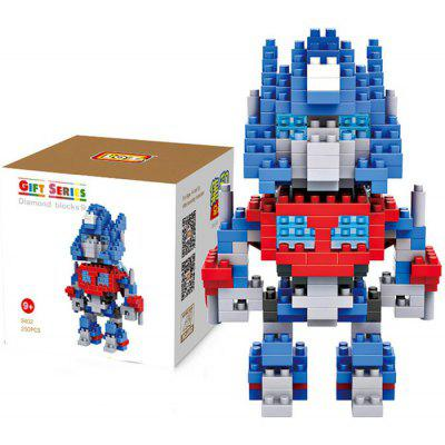 LOZ L - 9402 Optimus Prime Micro Diamond Building Block 250Pcs Educational Toy