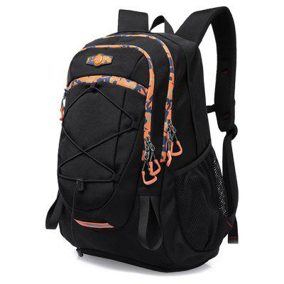 Buy BLACK Men Chic Large Capacity Multifunctional Sports Backpack for $46.24 in GearBest store