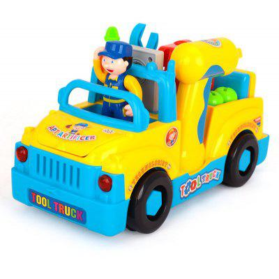 Creative Cartoon Style Tool Truck Set