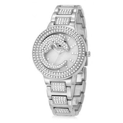 BELBI 9802 Exquisite Women Steel Band Quartz Watch