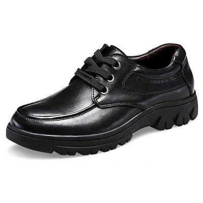 Male Business Soft Wearable Casual Leather Dress Shoes