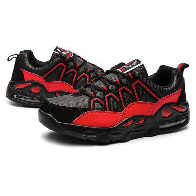 Buy BLACK RED 39 Male Outdoor Air Cushion Soft Breathable Athletic Shoes for $34.38 in GearBest store