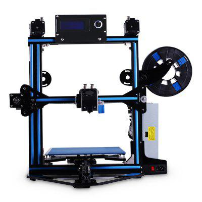 Zonestar Z5MR2 Mixed Color Printing DIY 3D Printer Kit3D Printers, 3D Printer Kits<br>Zonestar Z5MR2 Mixed Color Printing DIY 3D Printer Kit<br><br>Brand: ZONESTAR<br>Certificate: CE,FCC,RoHs<br>File format: STL, OBJ, G-code<br>Frame material: Aluminum Alloy<br>Layer thickness: 0.1-0.36mm<br>LCD Screen: Yes<br>Material diameter: 1.75mm<br>Memory card offline print: SD card<br>Model: Z5MR2<br>Nozzle diameter: 0.4mm<br>Package size: 50.00 x 50.00 x 20.00 cm / 19.69 x 19.69 x 7.87 inches<br>Package weight: 7.9000 kg<br>Packing Contents: 1 x Zonestar Z5MR2 DIY 3D Printer Kit<br>Print speed: Maximum 150mm/s<br>Product forming size: 220 x 220 x 220mm<br>Product size: 46.00 x 42.00 x 42.00 cm / 18.11 x 16.54 x 16.54 inches<br>Product weight: 7.5000 kg<br>Supporting material: Wood, PVA, PLA, ABS, PETG, Flexible Filaments<br>System support: Mac.,  Linux, Windows<br>Type: DIY<br>Voltage Range: 100 - 220V<br>Working Power: 250W<br>XY-axis positioning accuracy: 0.012mm<br>Z-axis positioning accuracy: 0.0025mm