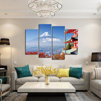 4PCS Fujisan Printed Painting Canvas PrintPrints<br>4PCS Fujisan Printed Painting Canvas Print<br><br>Craft: Print<br>Form: Four Panels<br>Material: Canvas<br>Package Contents: 4 x Print<br>Package size (L x W x H): 42.00 x 6.00 x 6.00 cm / 16.54 x 2.36 x 2.36 inches<br>Package weight: 0.3800 kg<br>Painting: Without Inner Frame<br>Product weight: 0.3400 kg<br>Shape: Horizontal Panoramic<br>Style: Modern/Contemporary<br>Subjects: Landscape<br>Suitable Space: Bedroom,Dining Room,Hotel,Living Room,Office
