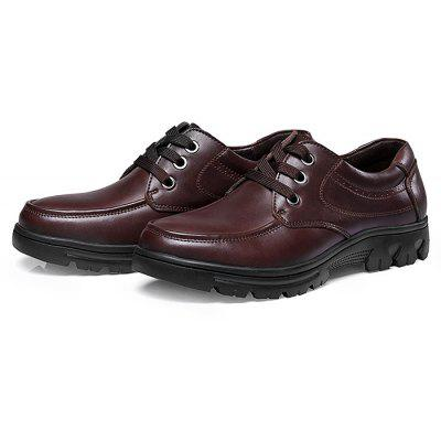 Male Breathable Soft Wearable Casual Leather Dress Shoes