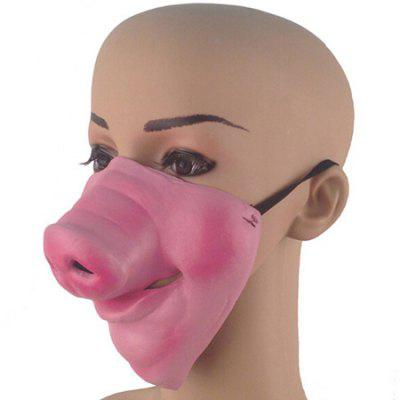 Halloween Pig Nose Masquerade Lower Face MaskHalloween Supplies<br>Halloween Pig Nose Masquerade Lower Face Mask<br><br>For: Friends, Kids<br>Material: Latex<br>Package Contents: 1 x Mask<br>Package size (L x W x H): 15.00 x 16.00 x 3.00 cm / 5.91 x 6.3 x 1.18 inches<br>Package weight: 0.0430 kg<br>Product size (L x W x H): 14.00 x 15.00 x 2.00 cm / 5.51 x 5.91 x 0.79 inches<br>Product weight: 0.0400 kg<br>Usage: Party, Performance, Halloween, Stage