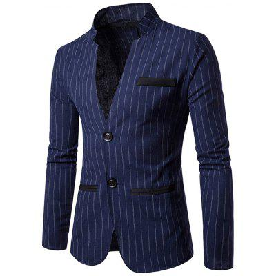 Business Striped Blazer Jacket