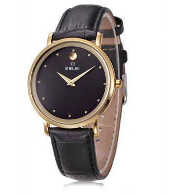 BELBI 6831 Trendy Women Leather Band Watch
